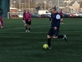 Talent football match against Trenchant