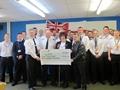 HMS Talent charity fundraising