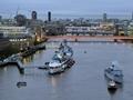 HMS Middleton visits London