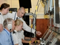 Defence college students get a taste of the Royal Navy