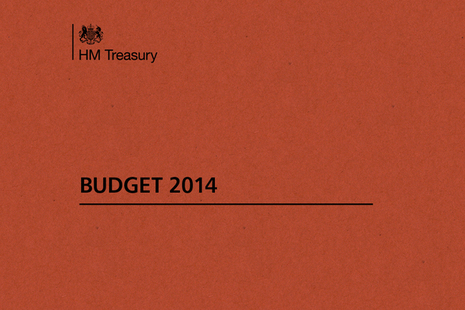 Budget document - front cover
