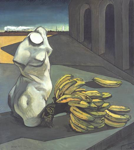 Giorgio de Chirico, 'The Uncertainty of the Poet' 1913