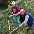 Volunteers on Lower Derwent Valley NNR © Natural England/Peter Roworth