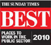 Sunday Times best places to work logo