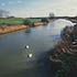 River Nene from Bluebell Bridge, Cambridgeshire © Natural England/Peter Wakely