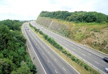 Motorway Cutting