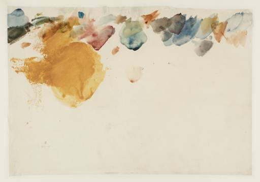 Joseph Mallord William Turner, '[blotches of watercolour]' 1799