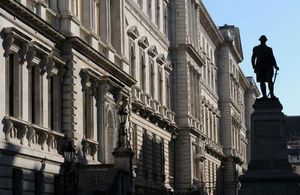 Foreign and Commonwealth Office and Clive statue.