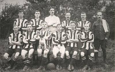 11th Hussars, Remount Football Team,