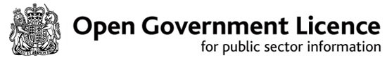 Open Government License for public sector information