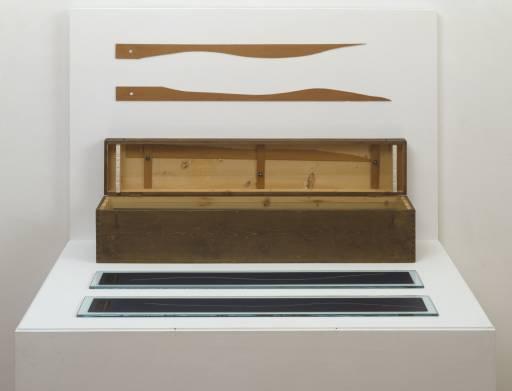 Marcel Duchamp, '3 stoppages étalon (3 Standard Stoppages)' 1913-14, replica 1964