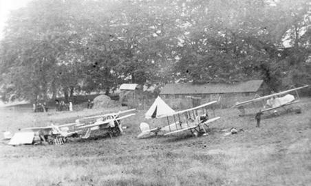 3 Sqn RFC on Exercise at Halton 1913