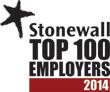 Stonewall 'Top 100 Employers' award 2013