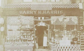 Shopkeeper Harry Harris appealed his conscription on economic grounds