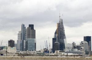 City of London construction.