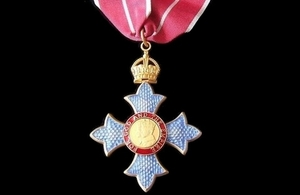 Medal inscribed 'For God and the Empire'.