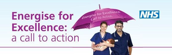 Energise for Excellence banner