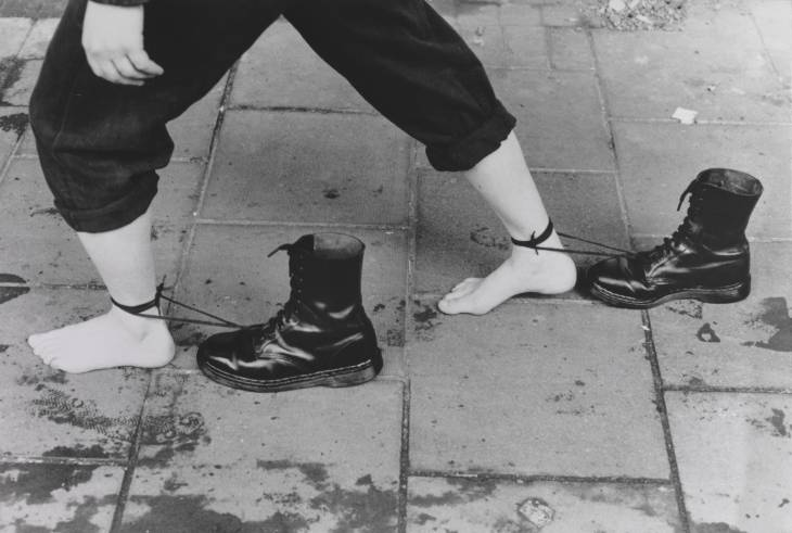Mona Hatoum, 'Performance Still' 1985, printed 1995