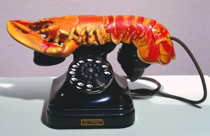 Salvador Dalí, 'Lobster Telephone' 1936