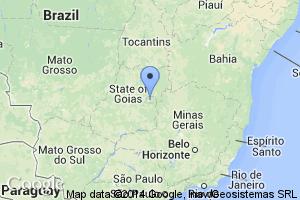 map of Brasilia, Brazil