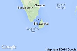 map of Colombo, Sri Lanka
