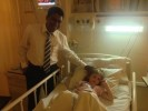 Dr Garusinghe: the consultant surgeon who performed the initial shunt surgery