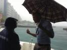 Male' in the rain