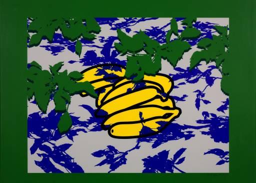 Patrick Caulfield, 'Bananas and Leaves' 1977