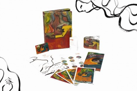 Tate Members pack and other items for members with Chris Ofili artwork