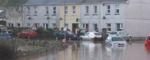 Lostwithiel floods