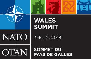 NATO Wales logo.