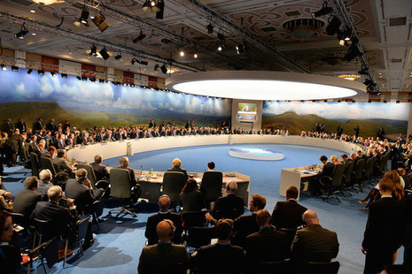 World leaders meet at NATO Summit Wales 2014