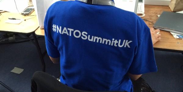 Reporting from #NATOsummitUK