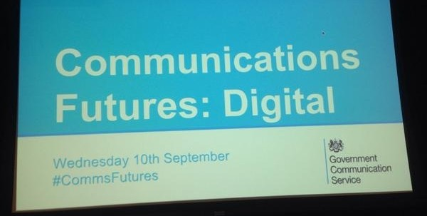 Communication Futures - Digital Working towards a vision for 2020