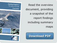 Read the overview document, providing a snapshot of the report findings including summary maps