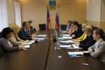 Meeting with the Murmansk city administration