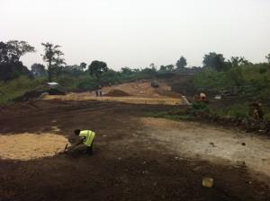 Construction of Virunga's Rutshuru hydro power plant