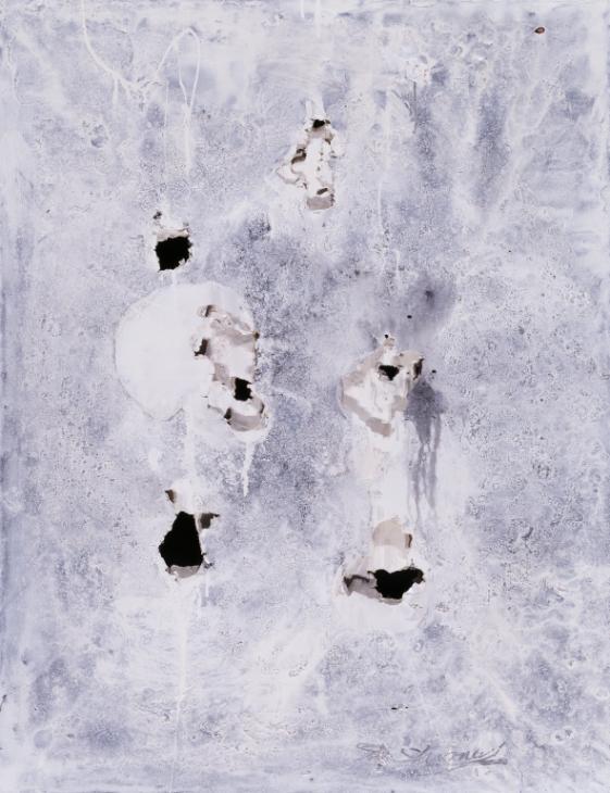 Shozo Shimamoto, 'Holes' 1954