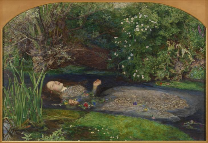 Sir John Everett Millais, Bt, 'Ophelia' 1851-2