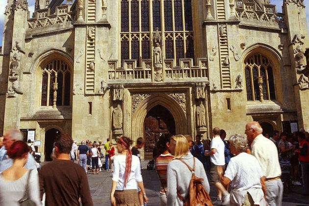 tourist in Britain from VIsitBritain