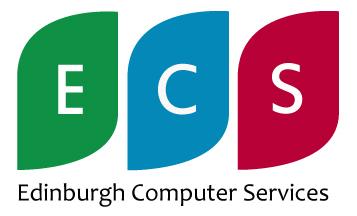 Edinburgh Computer Services Logo