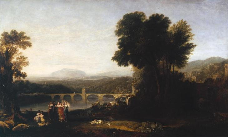 Joseph Mallord William Turner, 'Apullia in Search of Appullus' exhibited 1814
