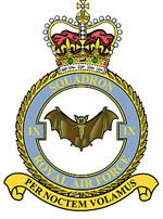 9 Squadron Crest