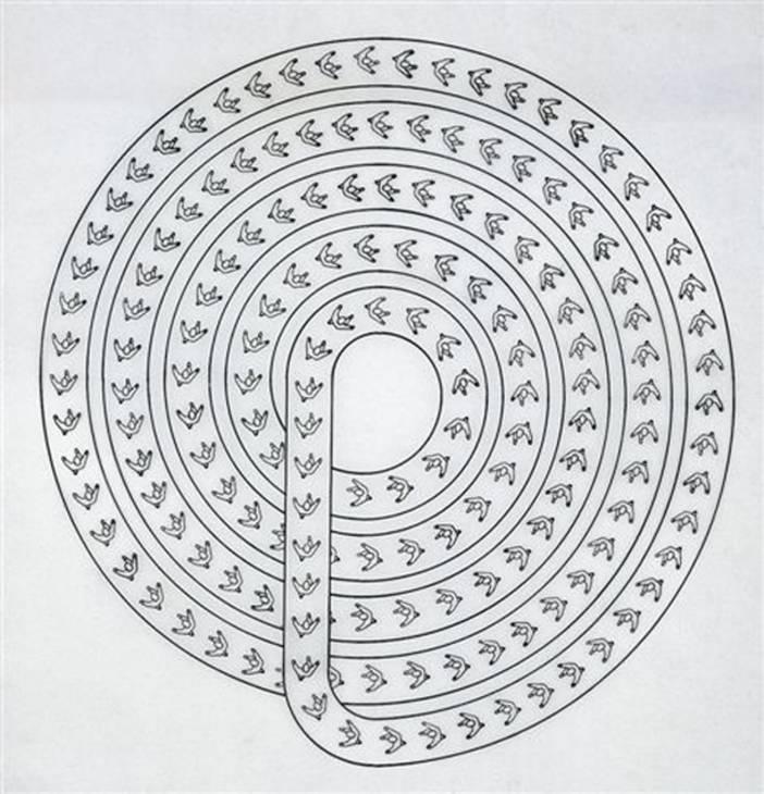Léon Ferrari, 'Spiral' circa 1982, 2007