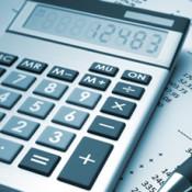 Picture of a calculator