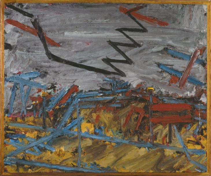 Frank Auerbach, 'Primrose Hill' 1967-8