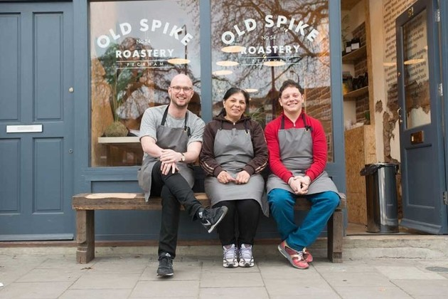 Old Spike Roastery, a social enterprise