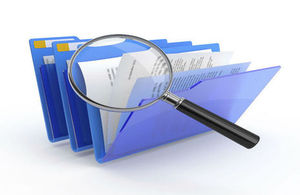 Investigations blue folder