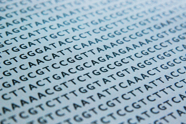 Image of DNA sequence.