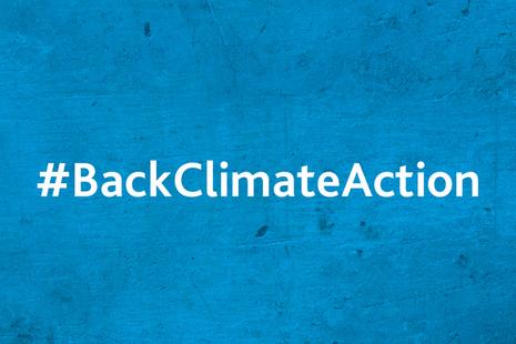 Back Climate Action Tweetathon
